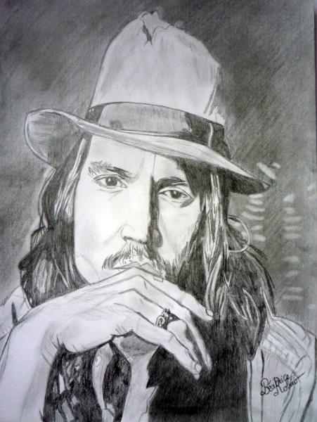 Johnny Depp by beasalsa